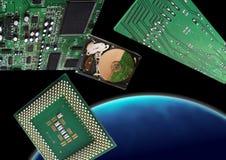 Эра новых видов технологии Стоковые Фотографии RF