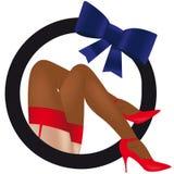 эротичные женские ноги Стоковое Изображение