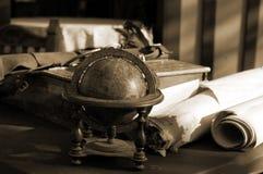 эрудиты стола Стоковые Изображения RF