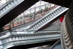 эскалаторы Стоковые Изображения RF