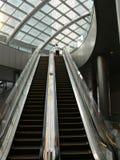эскалаторы Стоковое Фото