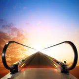 Эскалатор к небу Стоковое Изображение