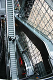 эскалатор Стоковая Фотография