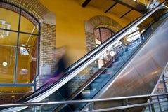 эскалатор стоковые изображения rf