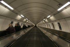 эскалатор prague Стоковая Фотография RF