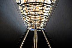 Эскалатор водя к доку Стоковое фото RF