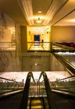 Эскалатор и прихожая в курорте Gaylord национальном, Вашингтон Стоковая Фотография