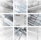 Эскиз города. Стоковые Фотографии RF