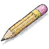 Эскиз карандаша иллюстрация штока