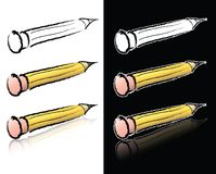 эскиз карандаша Стоковое Фото