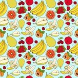 Эскиз картины плодоовощ Стоковое Фото