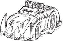 Эскиз корабля броневой машины Стоковое фото RF
