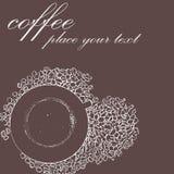 эскиз кофейной чашки бесплатная иллюстрация