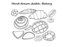 Эскиз нарисованный рукой bakersfield бесплатная иллюстрация