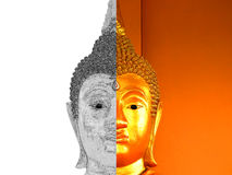 Эскиз статуи Будды Стоковое фото RF