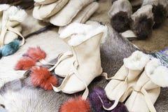 Эскимосские ботинки Стоковое Фото