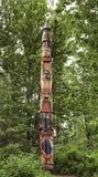 эскимосский totem полюса Стоковое Изображение RF