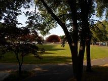Эспланада Рекы Charles, насиживает мемориальную раковину, Бостон, Массачусетс, США Стоковая Фотография RF