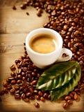 Эспрессо кофе Стоковое Изображение