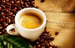 Эспрессо кофе Стоковая Фотография