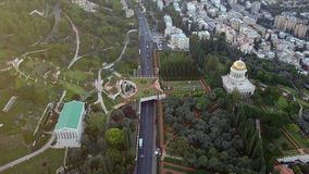 Эстакада парка в Израиле во время лета видеоматериал