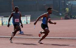 Эстафетный бег Стоковое фото RF