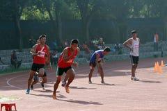 Эстафетный бег Стоковая Фотография RF