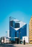 эстония tallinn Современная архитектура в эстонской столице Небоскреб делового центра на Таллине - Tartu - Vyru - Стоковые Фото