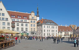 эстония tallinn стоковое фото
