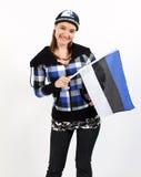 эстонская девушка Стоковое Фото