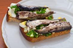 эстонский национальный сандвич 5 Стоковые Изображения RF