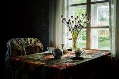Эстонский сельский дом стоковые изображения rf