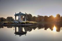 Эстрад для оркестра Forest Park в Сент-Луис, Миссури Стоковое Изображение