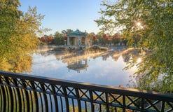 Эстрад для оркестра Forest Park в Сент-Луис, Миссури стоковые изображения rf