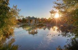 Эстрад для оркестра Forest Park в Сент-Луис, Миссури стоковая фотография rf