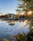 Эстрад для оркестра Forest Park в Сент-Луис, Миссури стоковое изображение rf