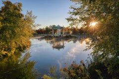 Эстрад для оркестра Forest Park в Сент-Луис, Миссури стоковое фото rf