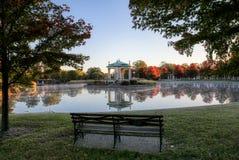 Эстрад для оркестра Forest Park в Сент-Луис, Миссури стоковое фото