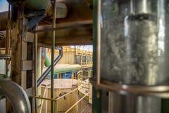 Этанол рафинадного завода сахарного тростника Стоковое фото RF