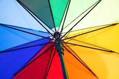 Этапы красивого зонтика различного цвета Стоковые Изображения