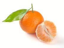 этапы clementines Стоковые Фотографии RF