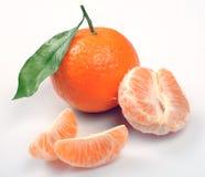 этапы clementines Стоковая Фотография RF
