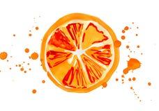 Этап апельсина Стоковые Изображения