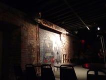 Этап комедии подземный пустой Стоковое Изображение RF