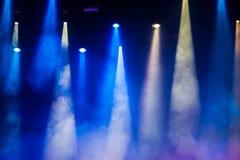 Этап концерта стоковое изображение rf