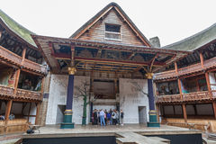 Этап Лондона Англии театра глобуса Шекспир Стоковые Фотографии RF