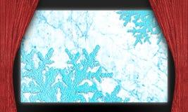 Этап льда рождества Стоковые Изображения