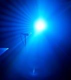 этап микрофона Стоковая Фотография RF