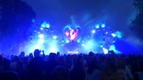 Этап дома Dreamfields 2014 Стоковая Фотография