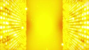 Этап освещая предпосылку со световым эффектом много Абстрактная анимация петли диско Накаляя неоновое освещение и пустое размещен иллюстрация вектора